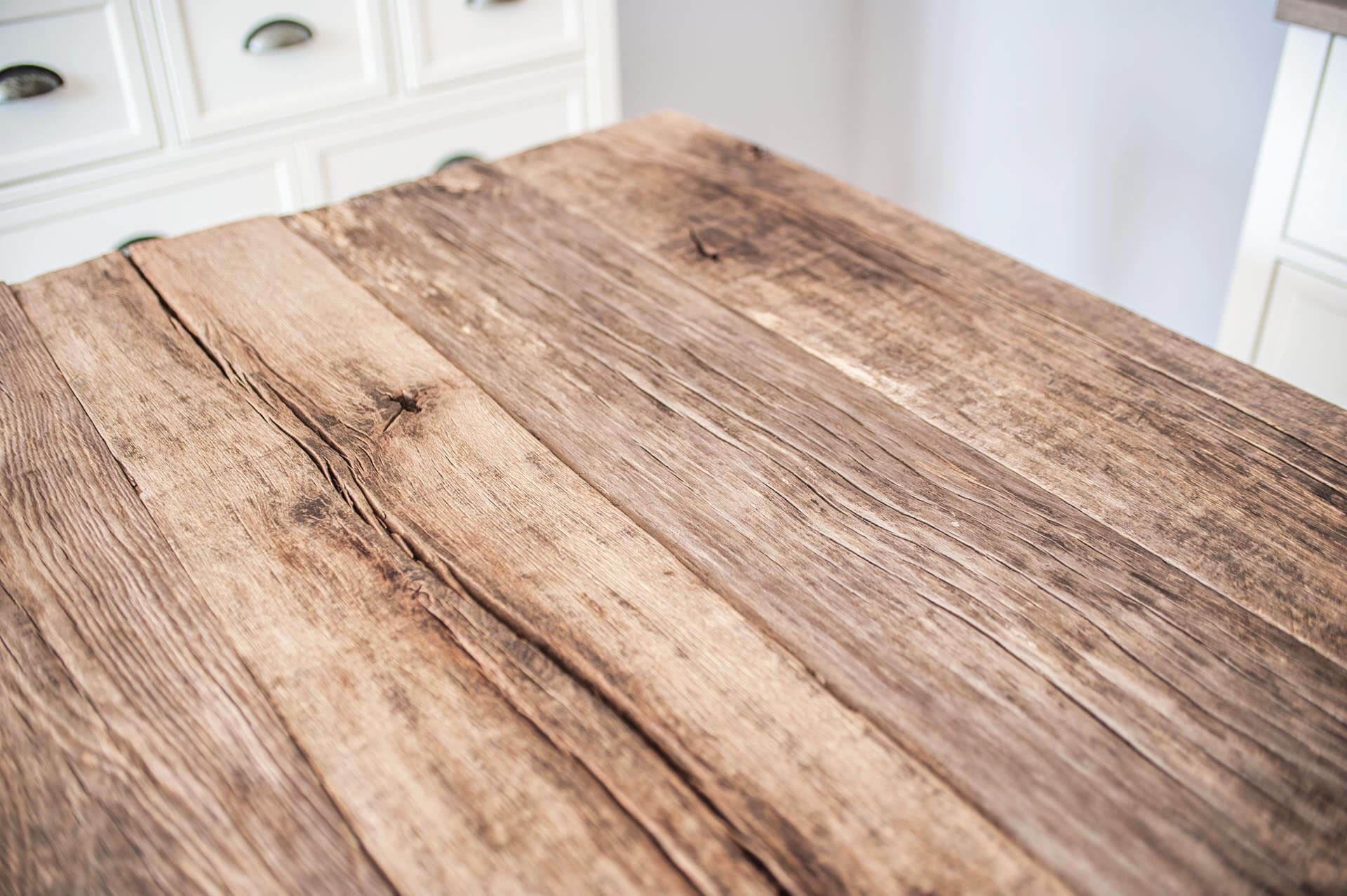 Dębowy drewniany blat stołu